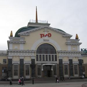 Железнодорожные вокзалы Ужура